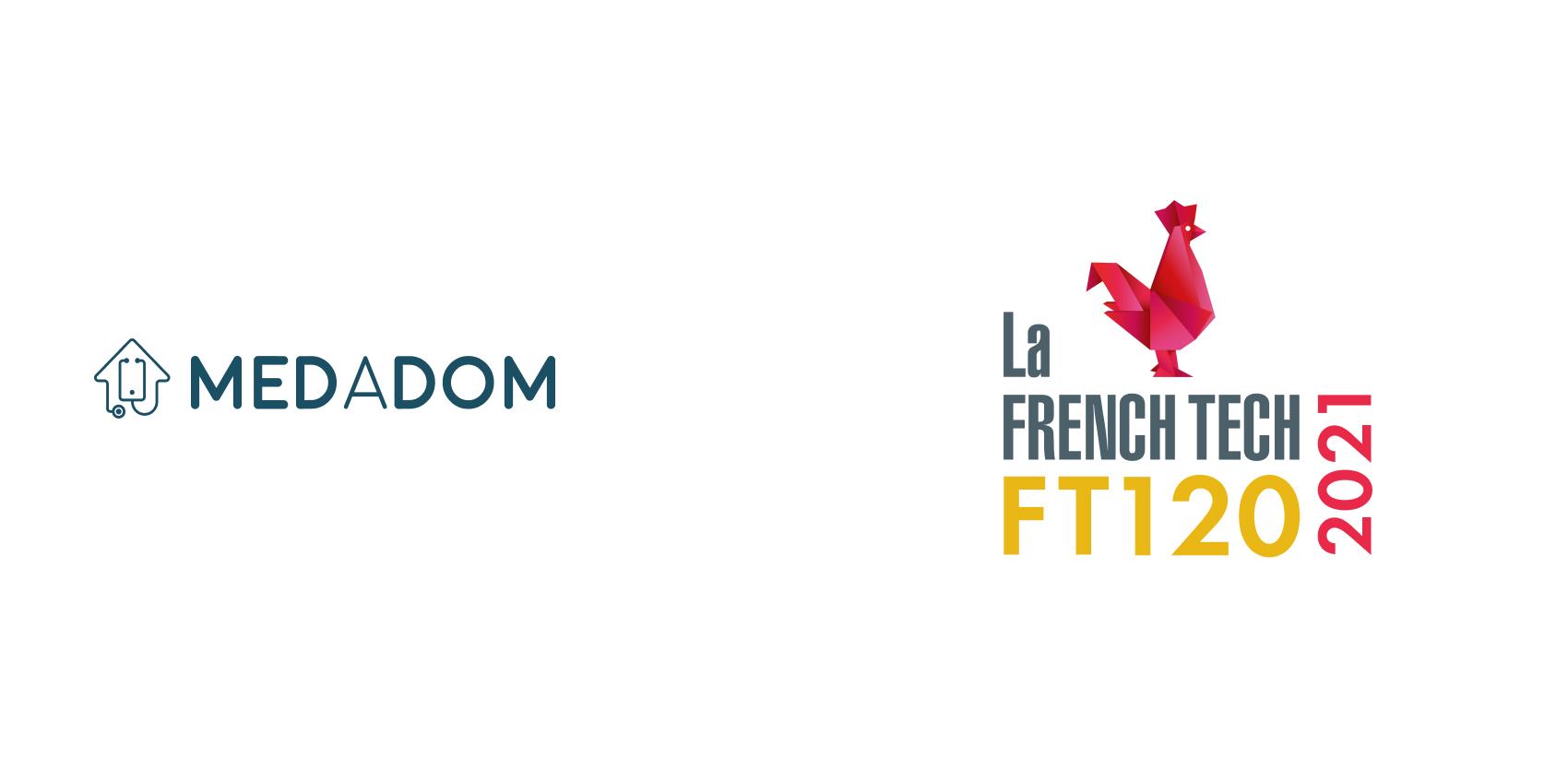 MEDADOM a sa place dans la French Tech 120 en 2021 !