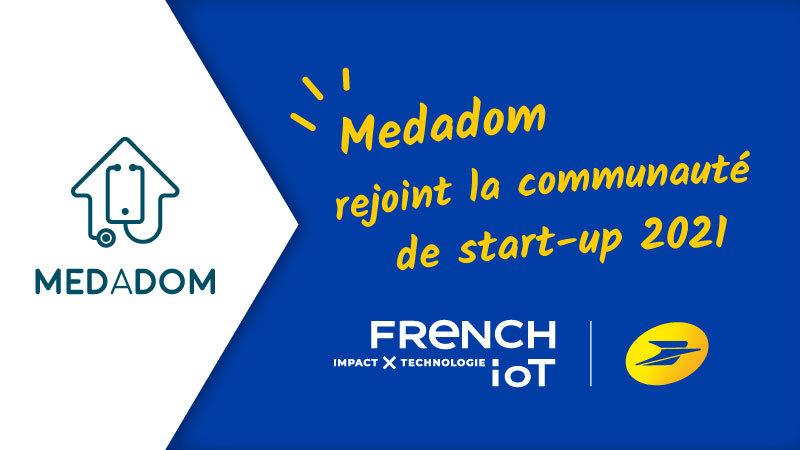 MEDADOM est ravie d'intégrer la communauté French (groupe La Poste).