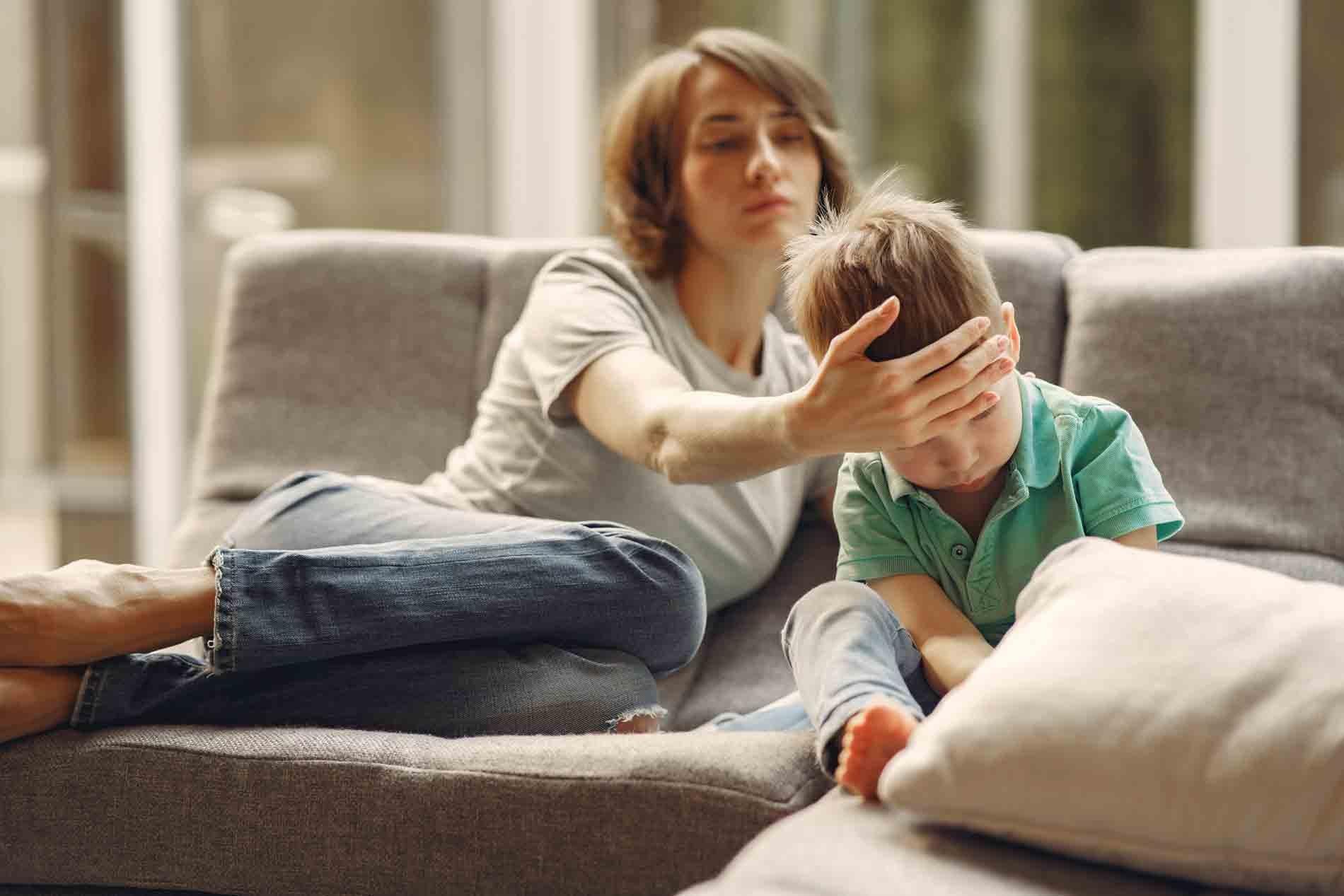 La fièvre chez l'enfant est à surveiller