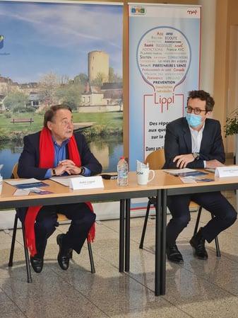 inauguration de la borne de téléconsultation à Issoudun