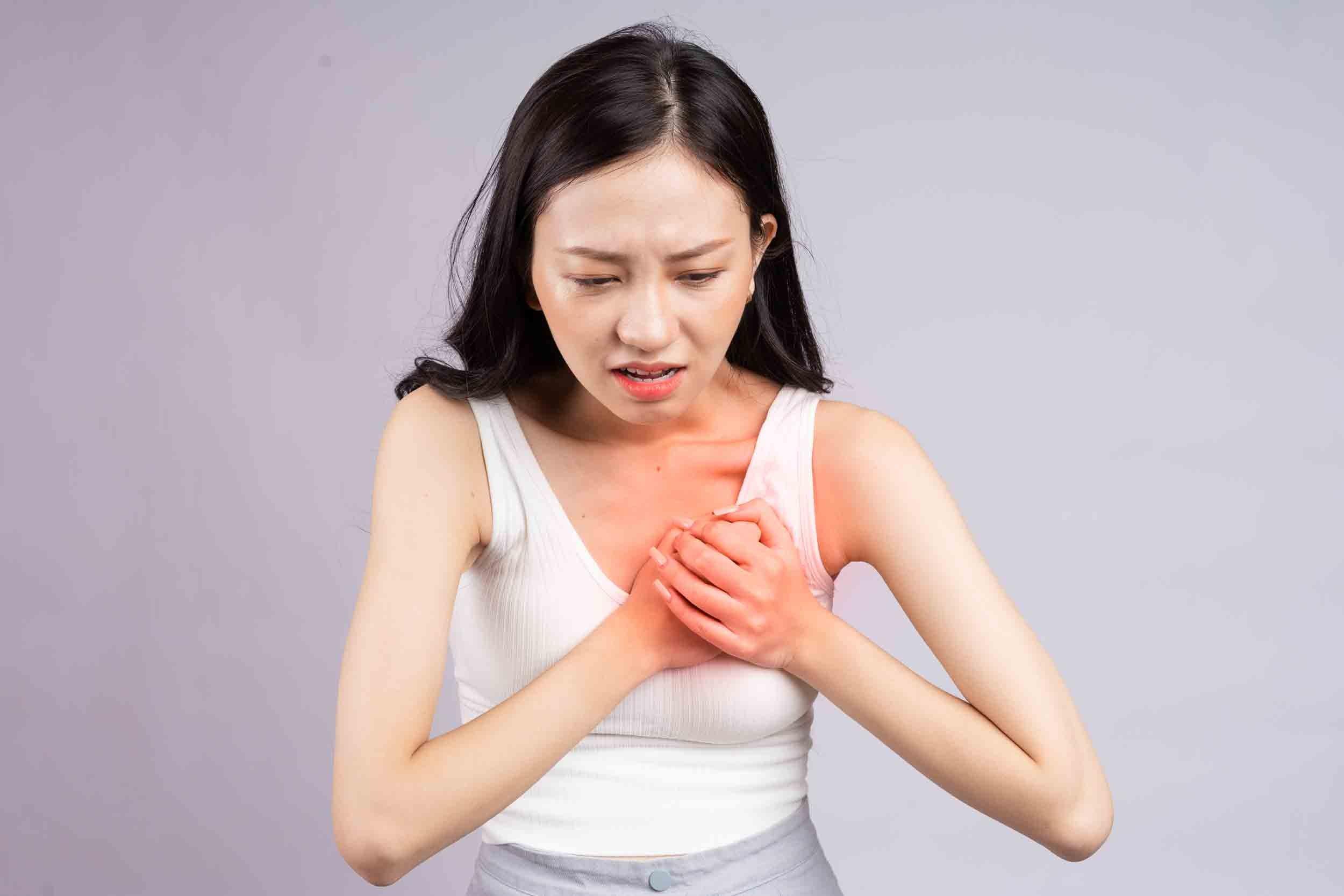 L'infarctus chez la femme ne présente parfois aucun symptôme