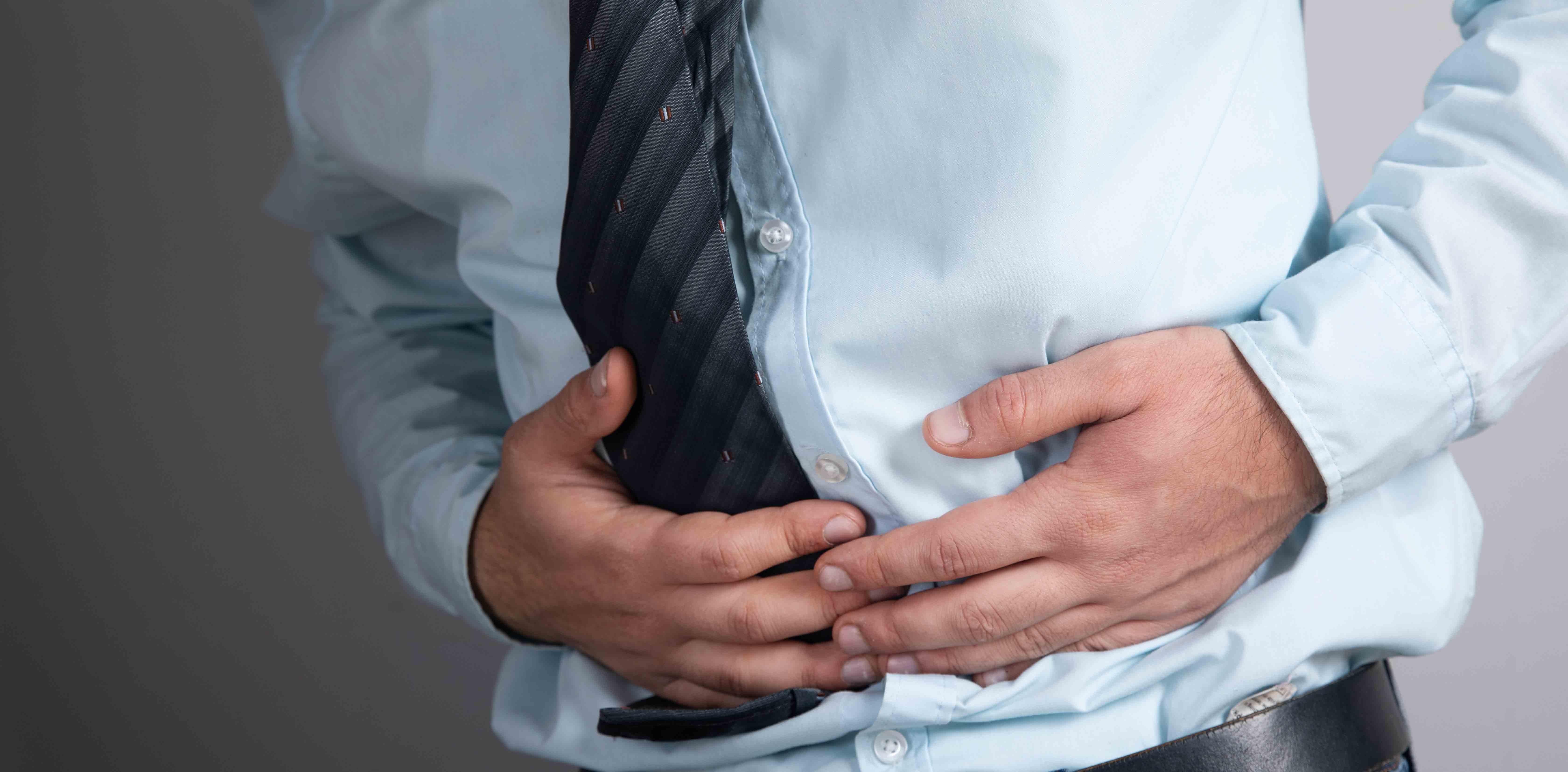L'ulcère peut parfois être douloureux