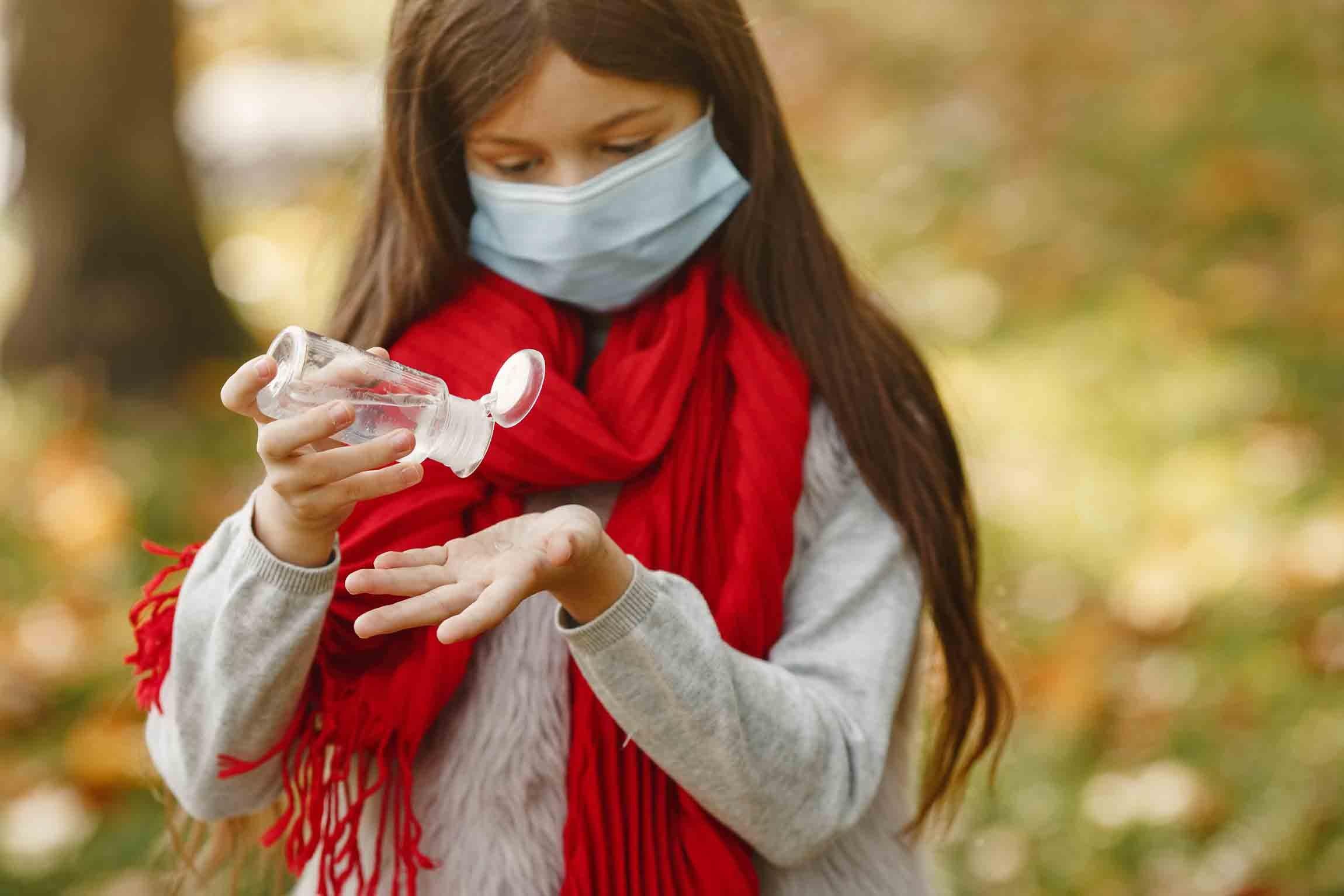 Les gestes barrières peuvent limiter la propagation du virus de la varicelle